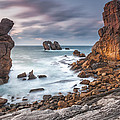 Gate In the Ocean Poster by Evgeni Dinev