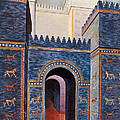Gate Of Ishtar, Babylonia Poster by Photo Researchers