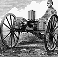 GATLING GUN, 1872 by Granger
