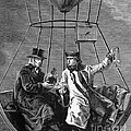 Gay-lussac And Jean-baptiste Biot, 1804 Print by Science Source