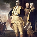 GENERALS AT YORKTOWN, 1781 Poster by Granger