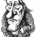 Georg Hegel, Caricature Poster by Gary Brown