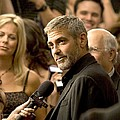 George Clooney At Arrivals For Michael Poster by Everett