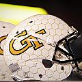 Georgia Tech Football Helmet Poster by Replay Photos