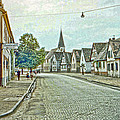 German Village Print by Chuck Staley