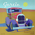 Gertie Model T Poster by Evie Cook