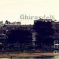 Ghirardelli Square Print by Linda Woods