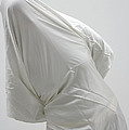 Ghost - person covered with white cloth Poster by Matthias Hauser