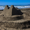 Giant sand castle Poster by Garry Gay