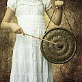 girl with gong Poster by Joana Kruse