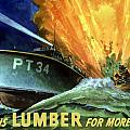 Give Us Lumber For More PT's Print by War Is Hell Store