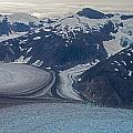 Glacial Curves Print by Mike Reid
