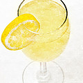 Glass of Lemonade Print by Andee Photography