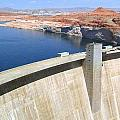 Glen Canyon Dam Poster by Will Borden