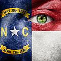 Go North Carolina Print by Semmick Photo