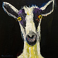 GOAT GLOAT Poster by Diane Whitehead