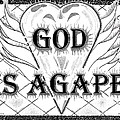 God Is Love - Agape Print by Glenn McCarthy Art and Photography
