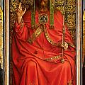 God the Father Poster by Hubert and Jan Van Eyck