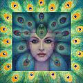 Goddess Isis Visions Poster by Sue Halstenberg