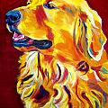 Golden - Scout Print by Alicia VanNoy Call