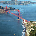 Golden Gate Bridge Print by Stickney Design