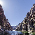 Grand Canyon gorge Print by Steve Williams
