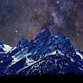 Grand Tetons Nights Print by Charles Warren