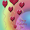 Grasp Tightly for Eternity Poster by Cathy  Beharriell
