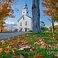 Greenfield Church Print by Susan Cole Kelly