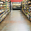 Grocery Store Isle Print by Andersen Ross