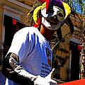 Guadalajara Street Jester Poster by Olden Mexico