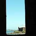 Guard Tower View Castillo San Felipe Del Morro San Juan Puerto Rico Print by Shawn O'Brien