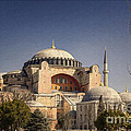 Hagia Sophia Print by Joan Carroll