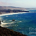 Half Moon Bay Print by KAREN WILES