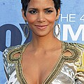 Halle Berry Wearing An Emilio Pucci Poster by Everett