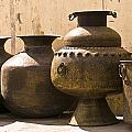 Hand Crafted Jugs, Jaipur, India Poster by Keith Levit