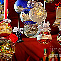 Handcrafted Mouth Blown Christmas Glass Balls Poster by Christine Till