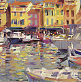Harbor at Cassis Poster by Peter Graham