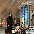 Harem Pool Print by PG REPRODUCTIONS