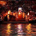 Haridwar Print by Aunit Sharma
