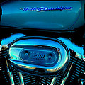 Harley Sportster 1200 Poster by David Patterson