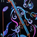 Harmony in Strings Poster by Bill Manson