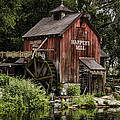 Harpers Mill Print by Heather Applegate