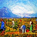 Harvest Time Print by Michael Durst