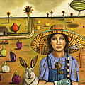 Harvey and The Eccentric Farmer Poster by Leah Saulnier The Painting Maniac