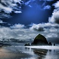 Haystack Rock Poster by David Patterson