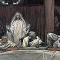 He Appeared to the Eleven Poster by Tissot