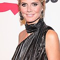 Heidi Klum At Arrivals For Qvcs Poster by Everett
