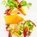 Heirloom Carrot Salad With Garam Masala And Lime Poster by Trinette Reed