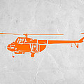 Helicopter Print by Irina  March